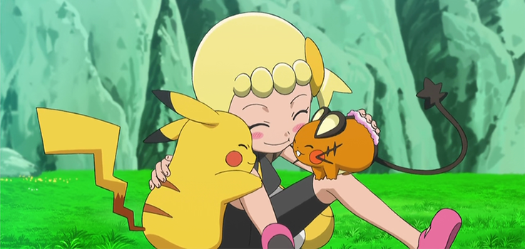xy pokemon pokeflix tv shockingly cheeky friendship
